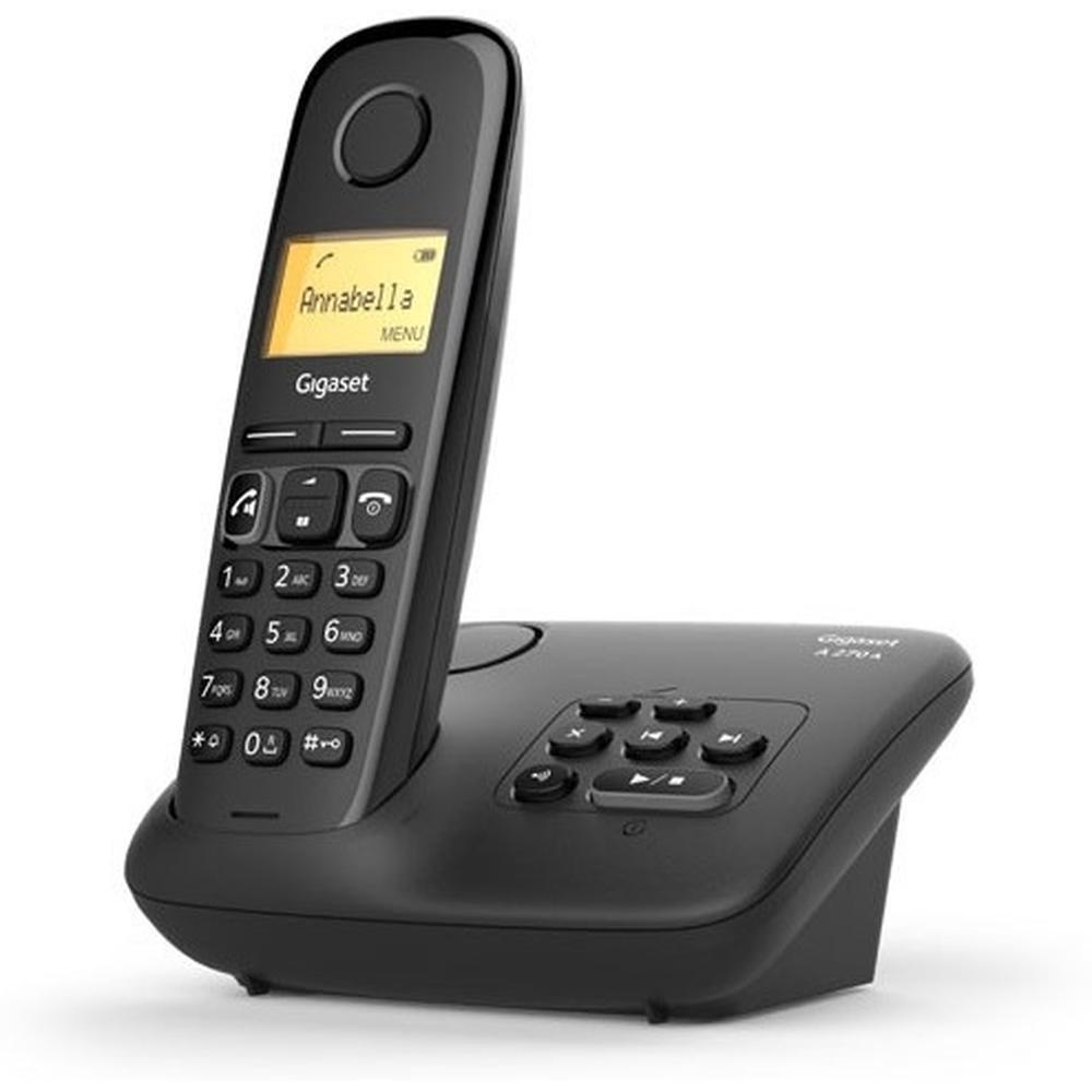 Фото - Радиотелефон Gigaset A270A черный радиотелефон gigaset c430 черный серебристый