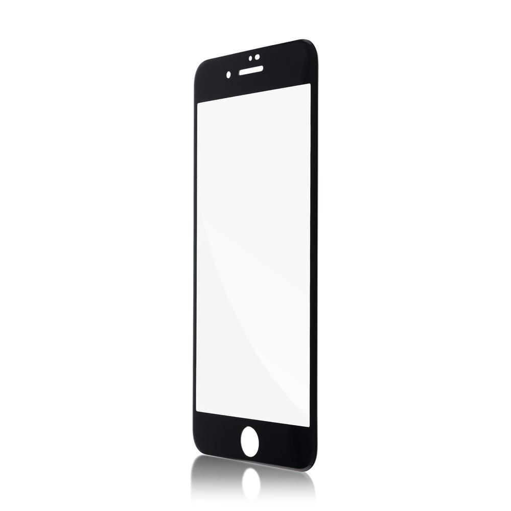 Защитное стекло для iPhone 7\8 Brosco Unbreakable 3D, изогнутое по форме дисплея, с черной рамкой защитное стекло для iphone 6 plus onext 3d изогнутое по форме дисплея с прозрачной рамкой