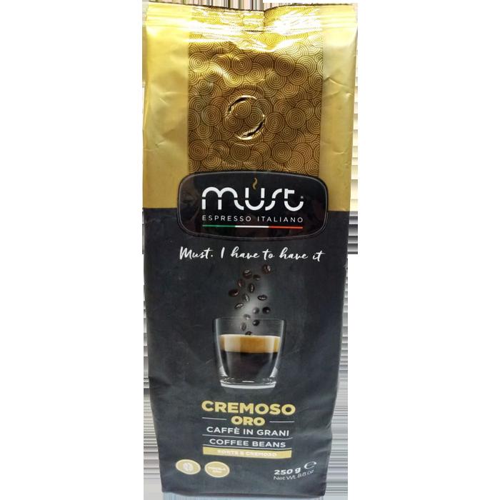 Кофе в зернах Must CREMOSO 0.25 кг