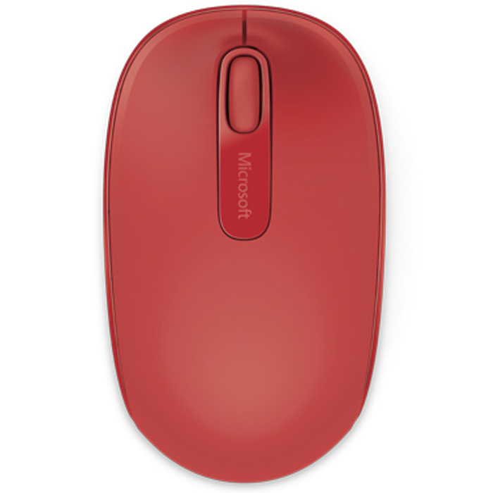 Мышь Microsoft Mobile Mouse 1850 Flame Red U7Z-00034