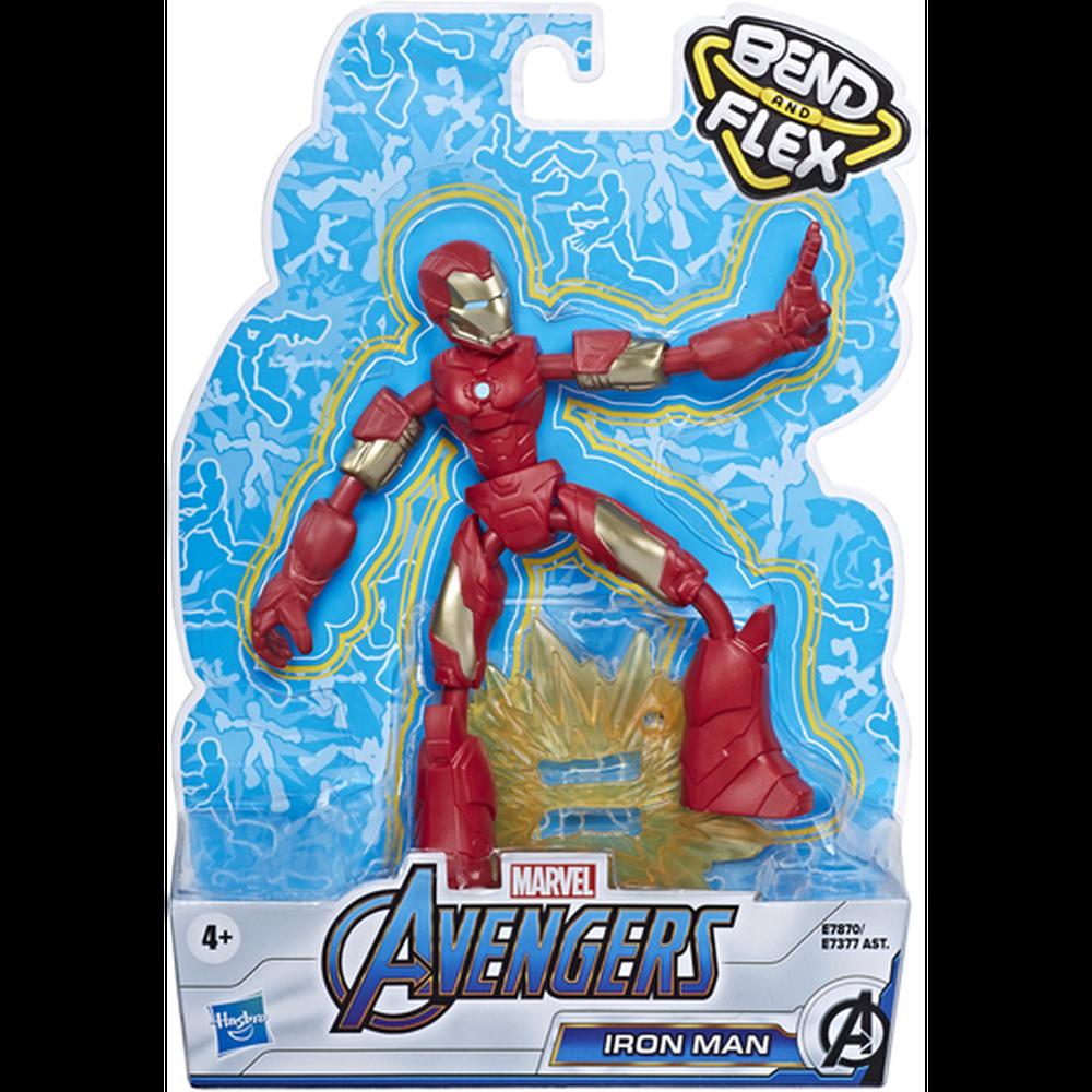Фото - Avengers Hasbro Фигурка Бенди Мстители 15 см E7377 Железный Человек avengers hasbro фигурка бенди мстители 15 см e7377 капитан америка