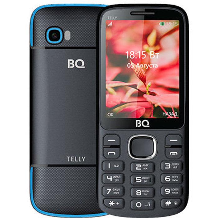 Мобильный телефон BQ Mobile BQ-2808 Telly Black/Blue планшет bq mobile bq 7083g blue