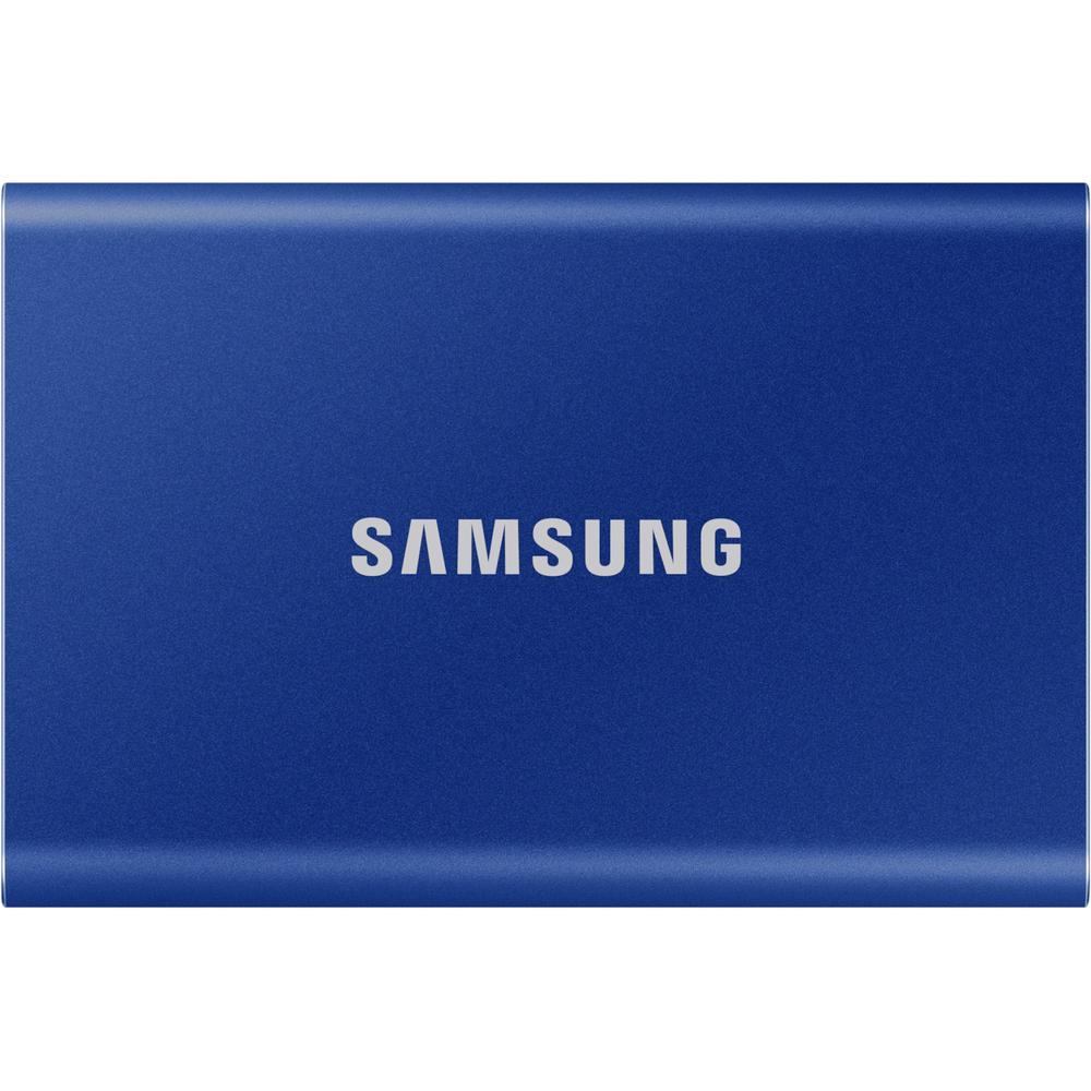 Фото - Внешний SSD-накопитель 1.8 500Gb Samsung T7 MU-PC500H/WW (SSD) USB 3.2 Type C Синий электроника