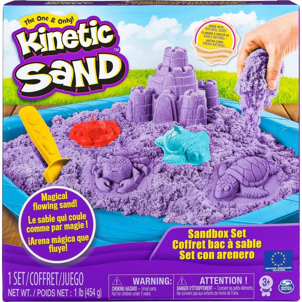 Kinetic Sand Кинетический песок набор для лепки