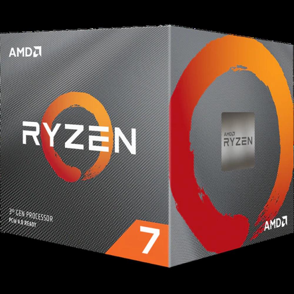 Процессор AMD Ryzen 7 3700X, 3.6ГГц, (Turbo 4.4ГГц), 8-ядерный, L3 32МБ, Сокет AM4, BOX
