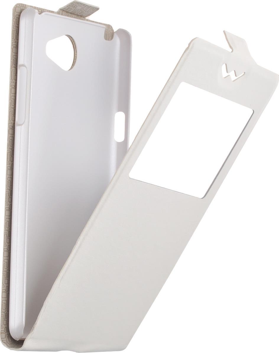 Чехол для LG Max X155 Flip-Slim AW skinBOX, белый