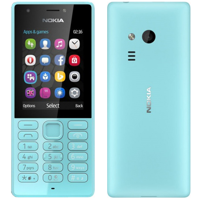 Мобильный телефон Nokia 216 Dual Sim Blue мобильный телефон nokia 220 4g dual sim blue бирюзовый
