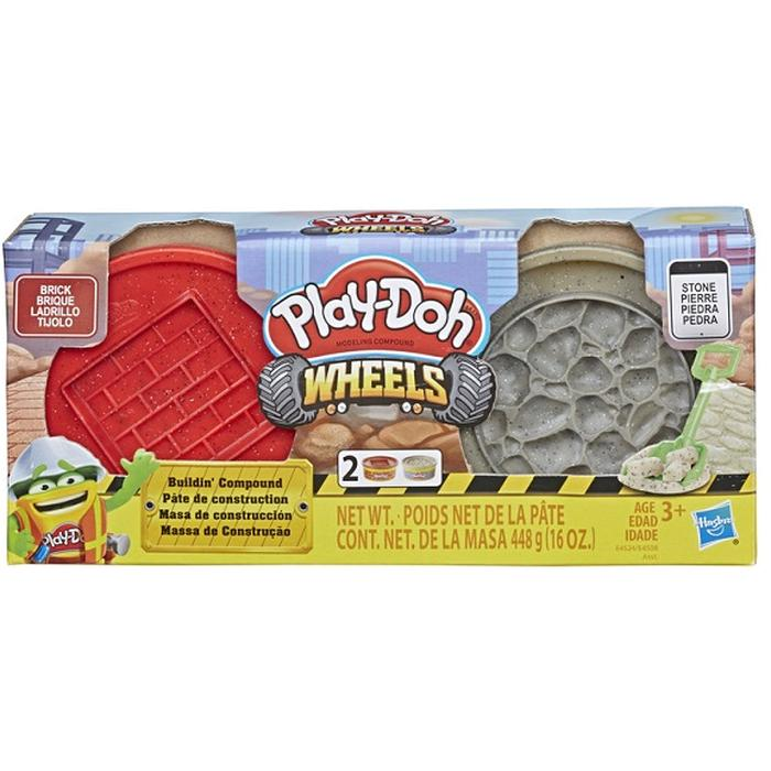 Фото - Игровой набор специальной массы Hasbro Play-Doh Wheels E4508 игровой набор специальной массы hasbro play doh wheels e4508