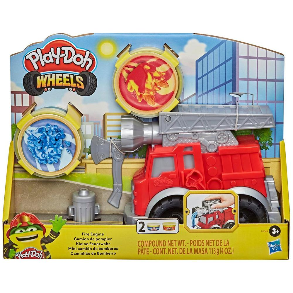 Игровой набор мини с пластилином Hasbro Play-Doh Пожарная Машина F06495L0