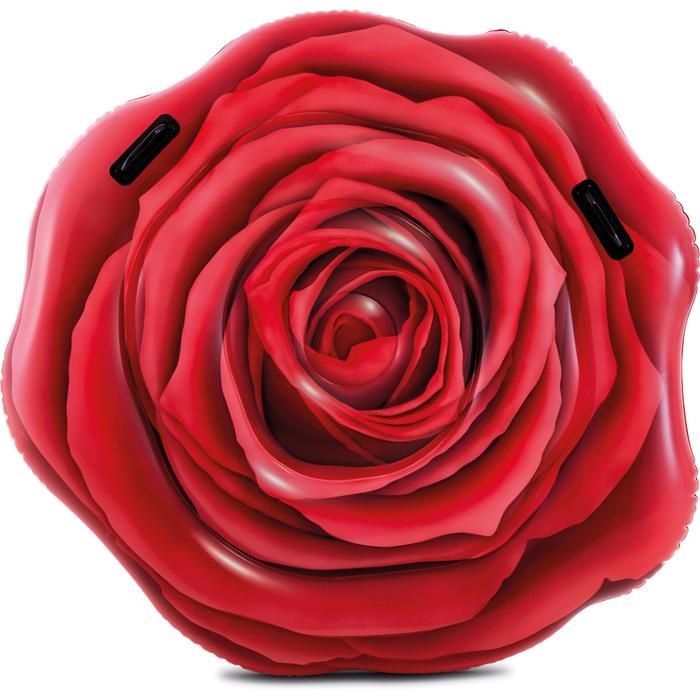 Надувной матрас Intex Роза 137х132 см с58783