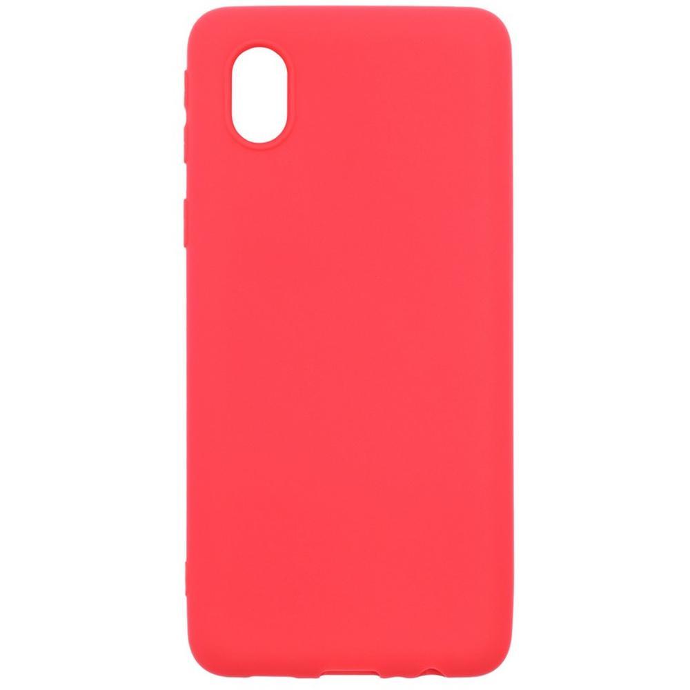 Чехол для Samsung Galaxy A01 Core SM-A013M01 Core SM-M013 Zibelino Soft Matte красный