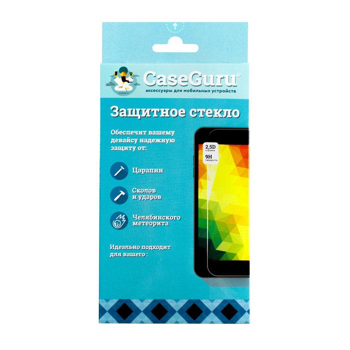 Защитное стекло для Huawei Nova 2 Plus CaseGuru изогнутое по форме дисплея, с белой рамкой защитное стекло для iphone 6 plus onext 3d изогнутое по форме дисплея с прозрачной рамкой