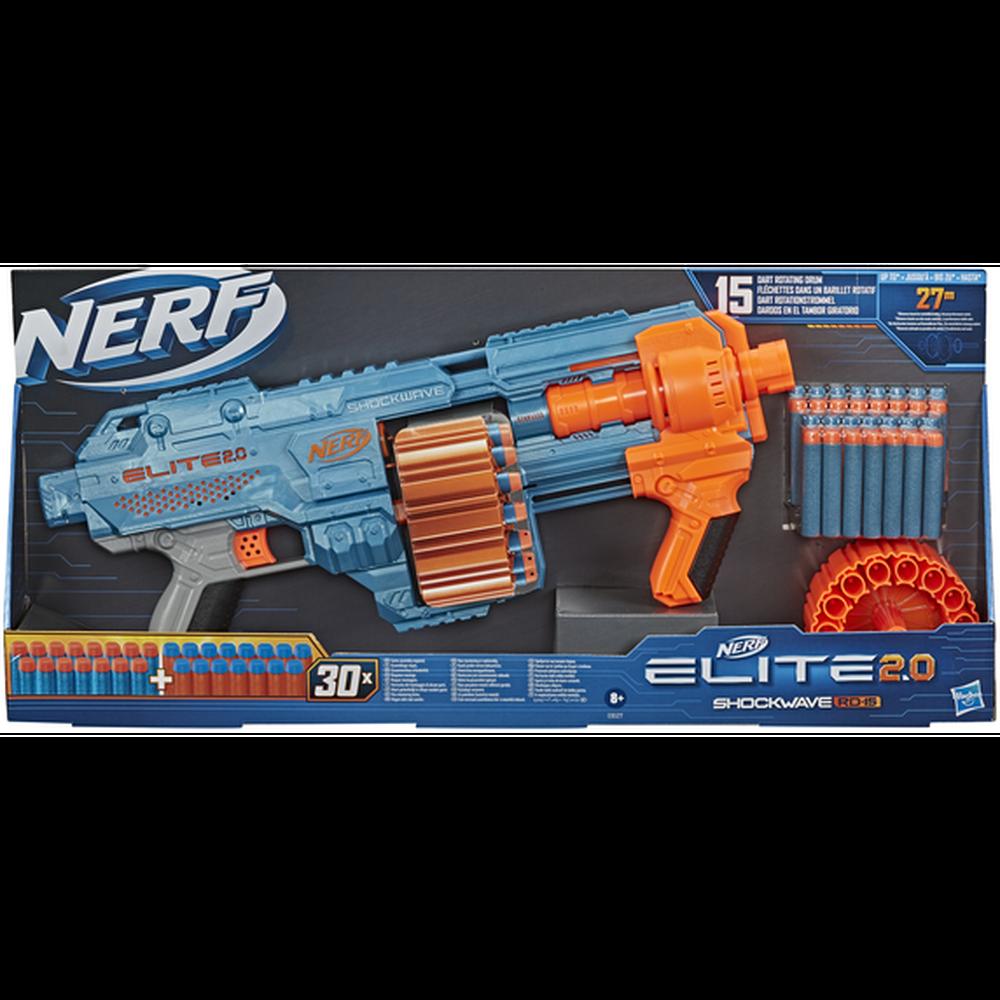Бластер Hasbro Nerf Элит 2.0 Шоквэйв E9527 другое оружие и боеприпасы nerf специальный агент