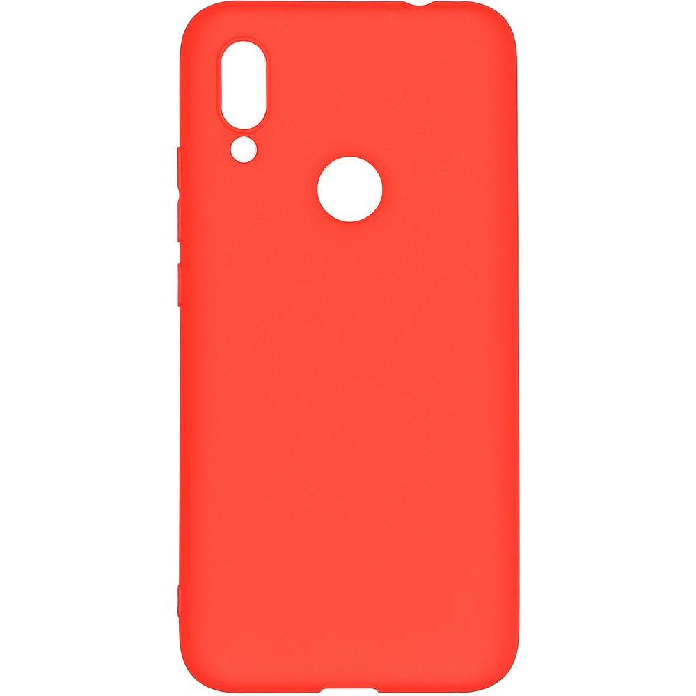 Фото - Чехол для Xiaomi Redmi 7 Pero софт-тач красный защитный чехол pero для xiaomi redmi 5 софт тач черный