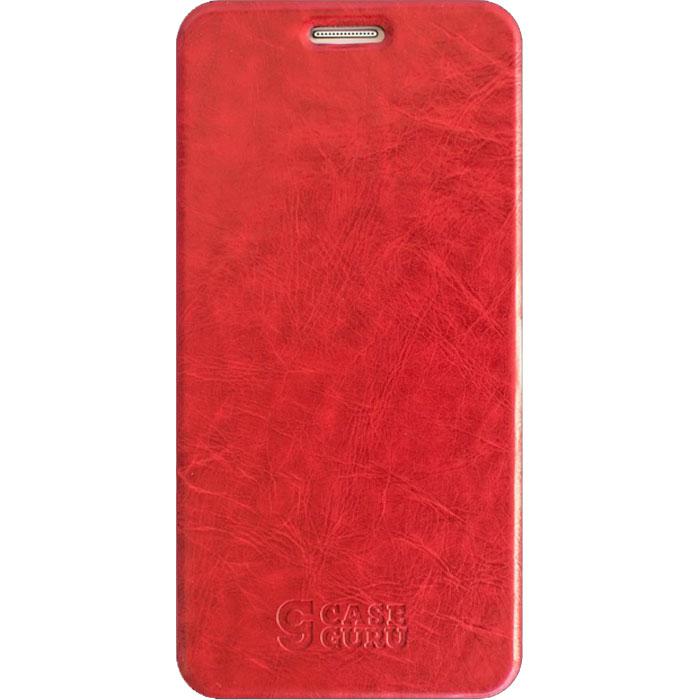 Чехол для Xiaomi Redmi 6 CaseGuru Magnetic Case, глянцево-красный чехол caseguru для xiaomi redmi 8a magnetic case glossy violet 106317