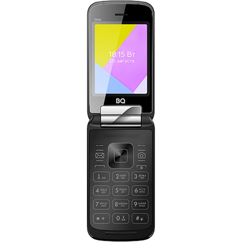 Мобильный телефон BQ Mobile BQ-2816 Shell Black мобильный телефон bq 2816 shell gold