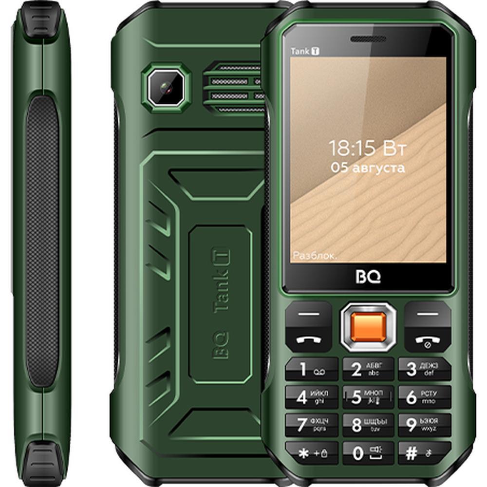Мобильный телефон BQ Mobile BQ-2824 Tank T Dark Green телефон bq 2824 tank t черный