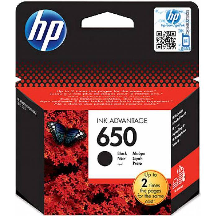 Фото - Картридж HP CZ101AE №650 Black для DJ IA 2515 картридж hp cz102ae 650 цветной dj ia 2615 200стр