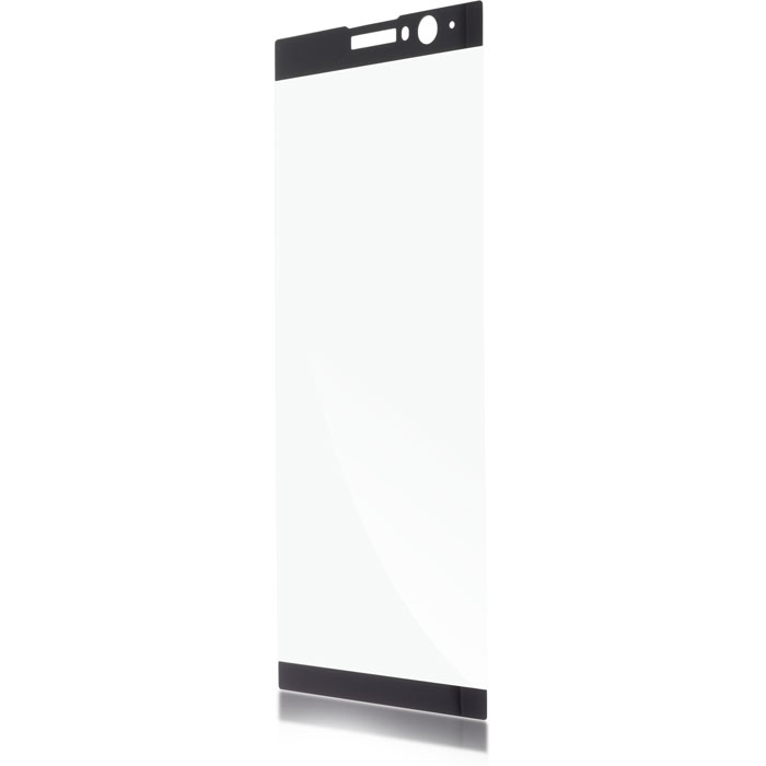 Защитное стекло для Sony H4413 Xperia XA2 Plus Brosco, 3D, на весь экран, с черной рамкой for sony xperia xa2 xa2 plus lcd display touch screen digitizer display screen xa2 h4113 h3113 h3123 xa2 plus h4413 h4493 h3413