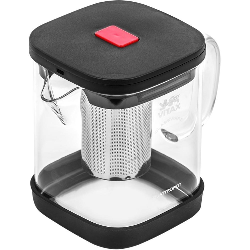 Фото - Заварочный чайник Vitax VX 3310, 900 мл. заварочный чайник vitax belsay 1 л vx 3203