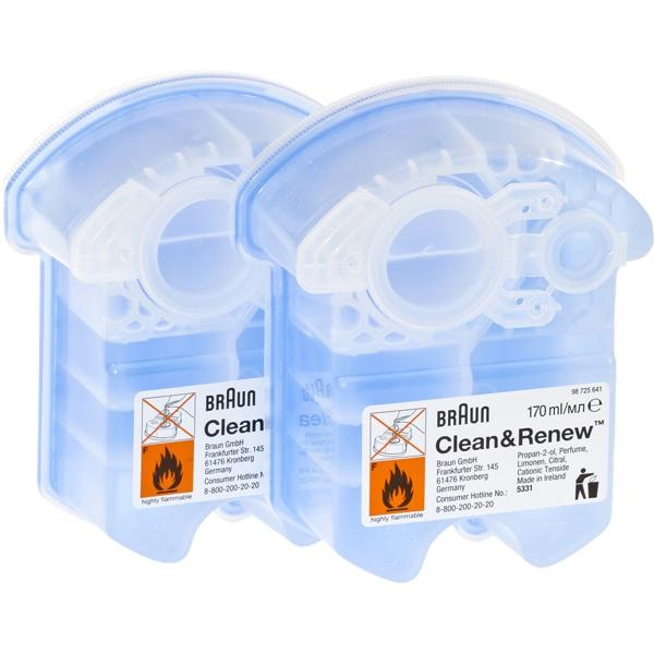 Жидкость для чистки бритвенных головок Картридж Braun CCR2