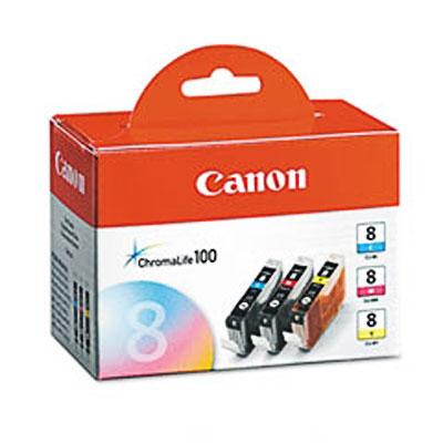Фото - Canon CLI-8CMY для Pixma iP6600D/iP4200/5200/5200R картридж superfine cli 8bk для canon pixma ip3300 pixma ip4200 450стр черный