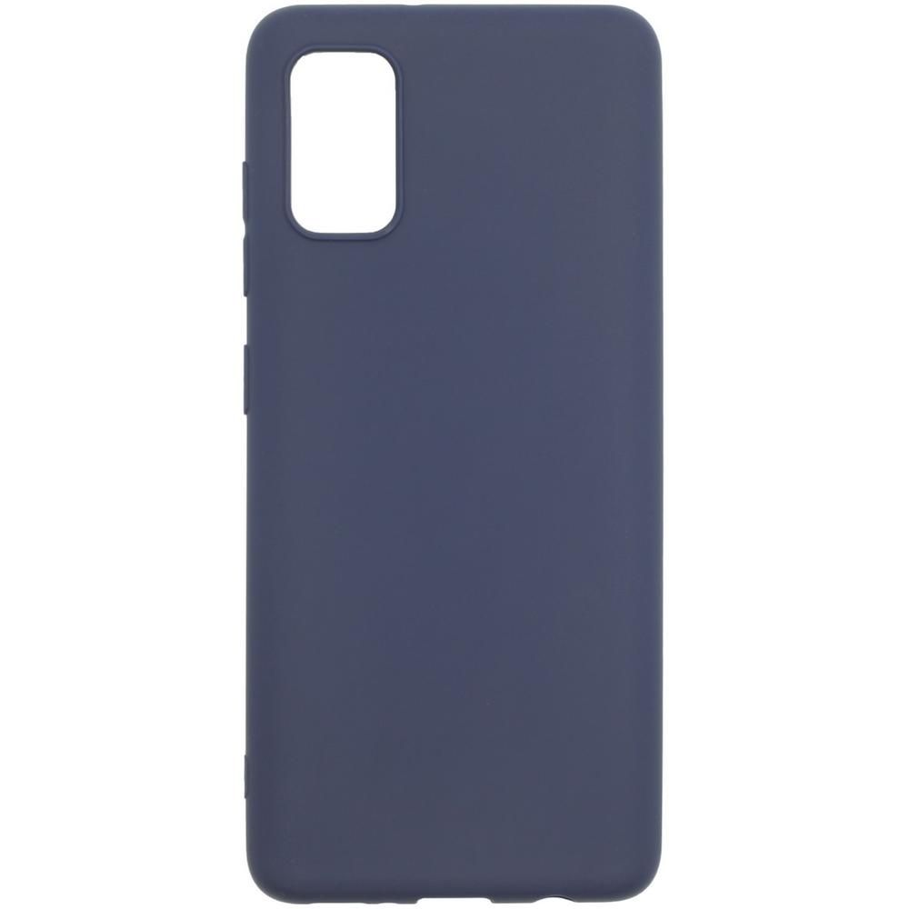Фото - Чехол для Samsung Galaxy A41 SM-A415 Zibelino Soft Matte синий чехол activ для samsung sm a415 galaxy a41 full originaldesign black 119398