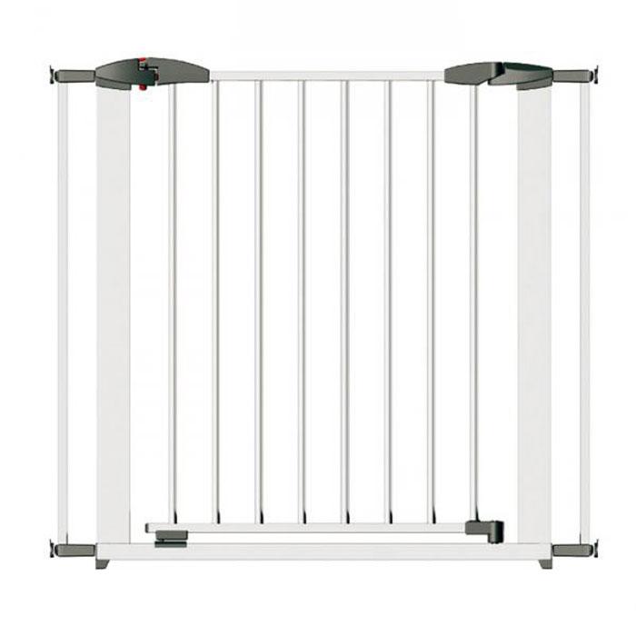 Ворота безопасности Clippasafe 73-96 см, цвет белый