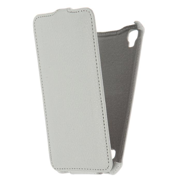 Чехол для LG X style K200 Gecko Flip case, белый