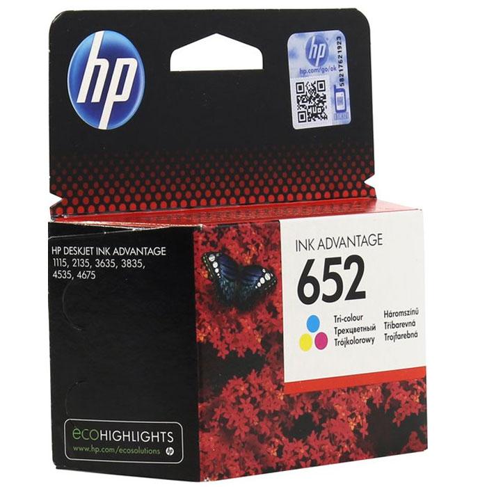 Фото - Картридж HP F6V24AE №652 Color для HP DJ IA 1115/2135/3635/4535/3835/4675 (200стр.) картридж hp cz102ae 650 цветной dj ia 2615 200стр