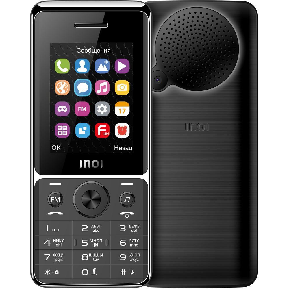 Мобильный телефон Inoi 248M Black мобильный телефон inoi 103b 4660042757735 black
