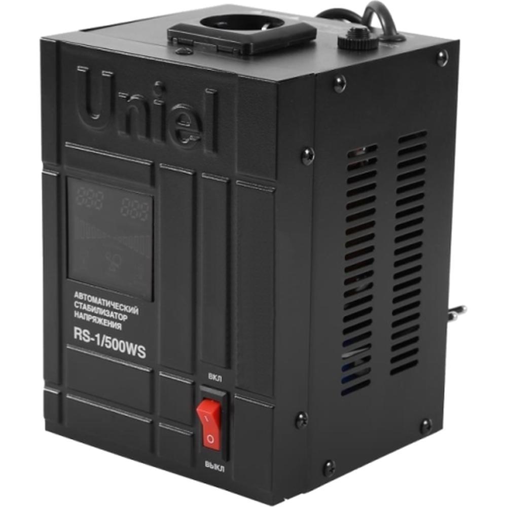 Стабилизатор напряжения Uniel RS-1/500WS 07378