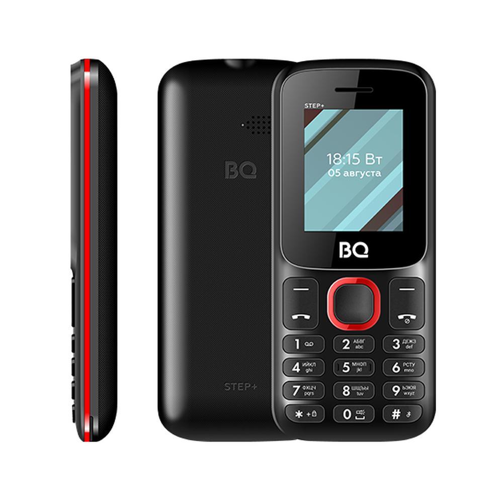 Мобильный телефон BQ Mobile BQ-1848 Step+ Red/Black сотовый телефон bq 1848 step black