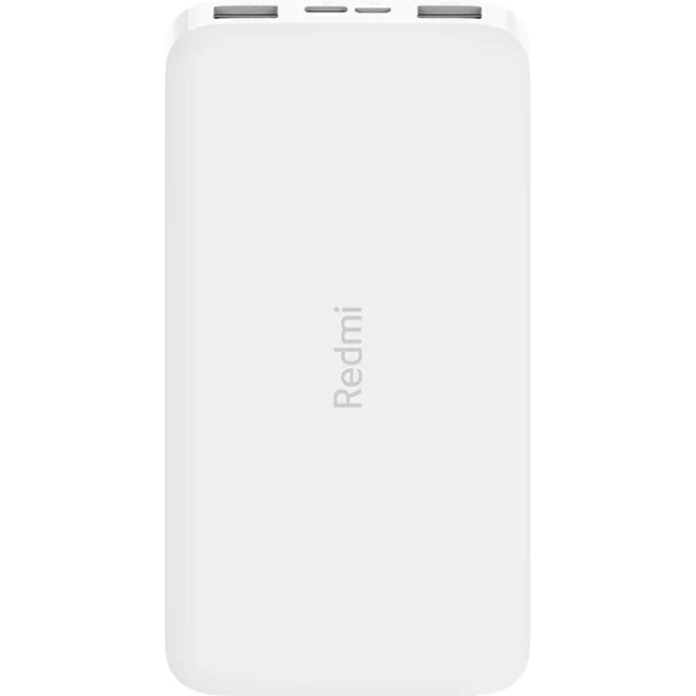 Фото - Внешний аккумулятор Xiaomi Redmi Power Bank 10000 mAh, 2xUSB, 1xType C, белый внешний аккумулятор twist 4000 mah синий