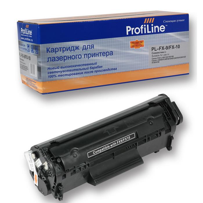Фото - Картридж ProfiLine PL- FX-10 для Canon Fax L100/L120 (2000стр) картридж t2 fx 10 для canon mf4018 4120 4140 4270 4660pl 4690pl fax l100 l120 l140 l160 tc cfx10