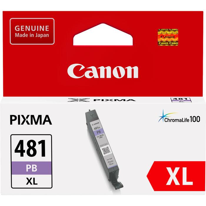Фото - Картридж Canon CLI-481PB XL для TS8140, TS9140. Синий для фотографий картридж canon cli 481pb 2102c001 для canon pixma ts8140ts ts9140 голубой
