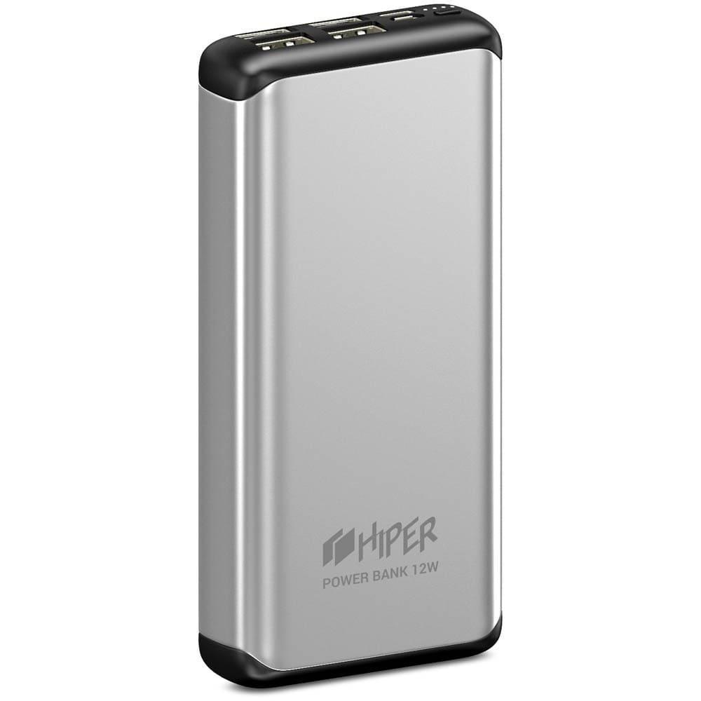 Фото - Внешний аккумулятор HIPER MS20000 20000mAh серебристый внешний аккумулятор hiper mps10000 10000mah синий