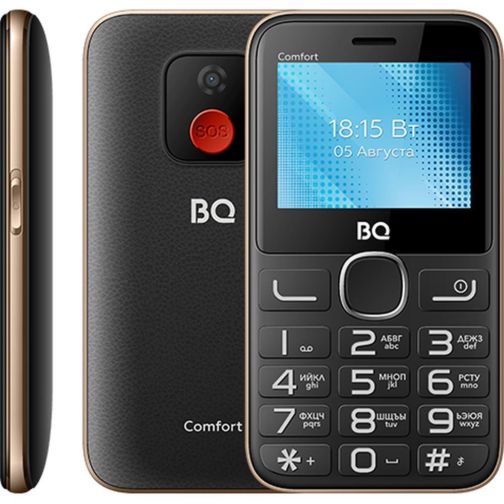 Мобильный телефон BQ Mobile BQ-2301 Comfort Black/Gold телефон bq comfort 2301 черный золотистый