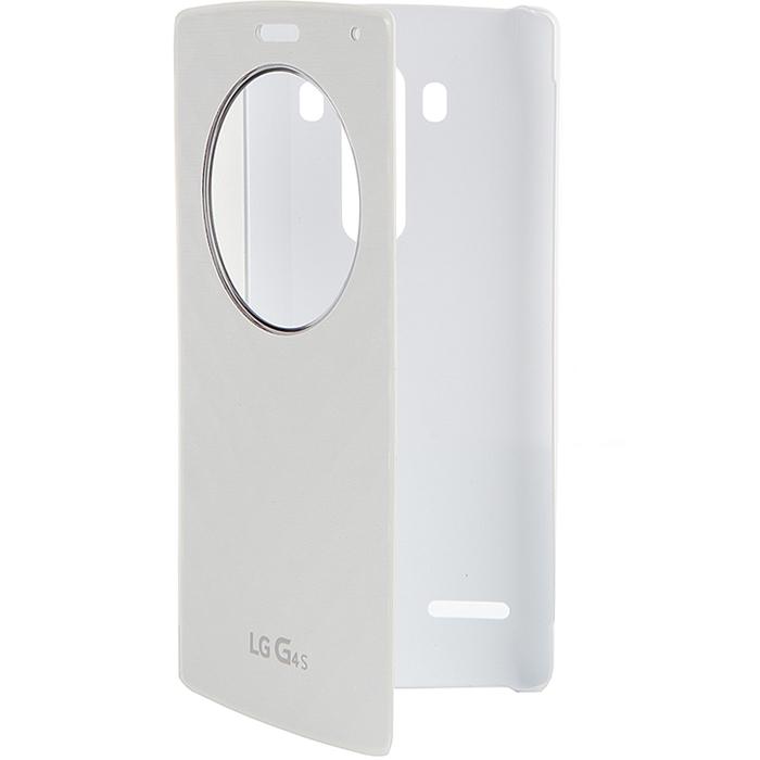 Чехол для LG H736 G4s QuickCircle CFV-110 white