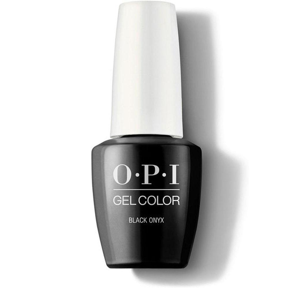 OPI Гель-лак для ногтей Classics GelColor Black onyx, 15 мл. недорого