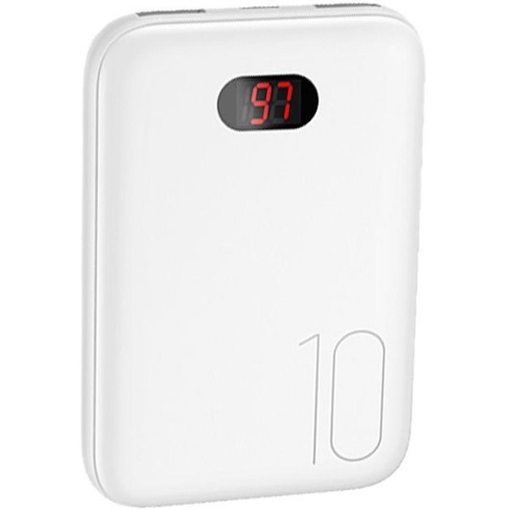 Фото - Внешний аккумулятор Usams US-CD66 10000mAh белый внешний аккумулятор usams us cd123 5000mah черный