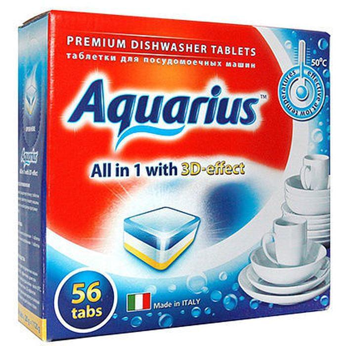 Фото - AQUARIUS All in 1 таблетки для посудомоечной машины, 56 шт. aquarius all in 1 таблетки для посудомоечной машины 150 шт