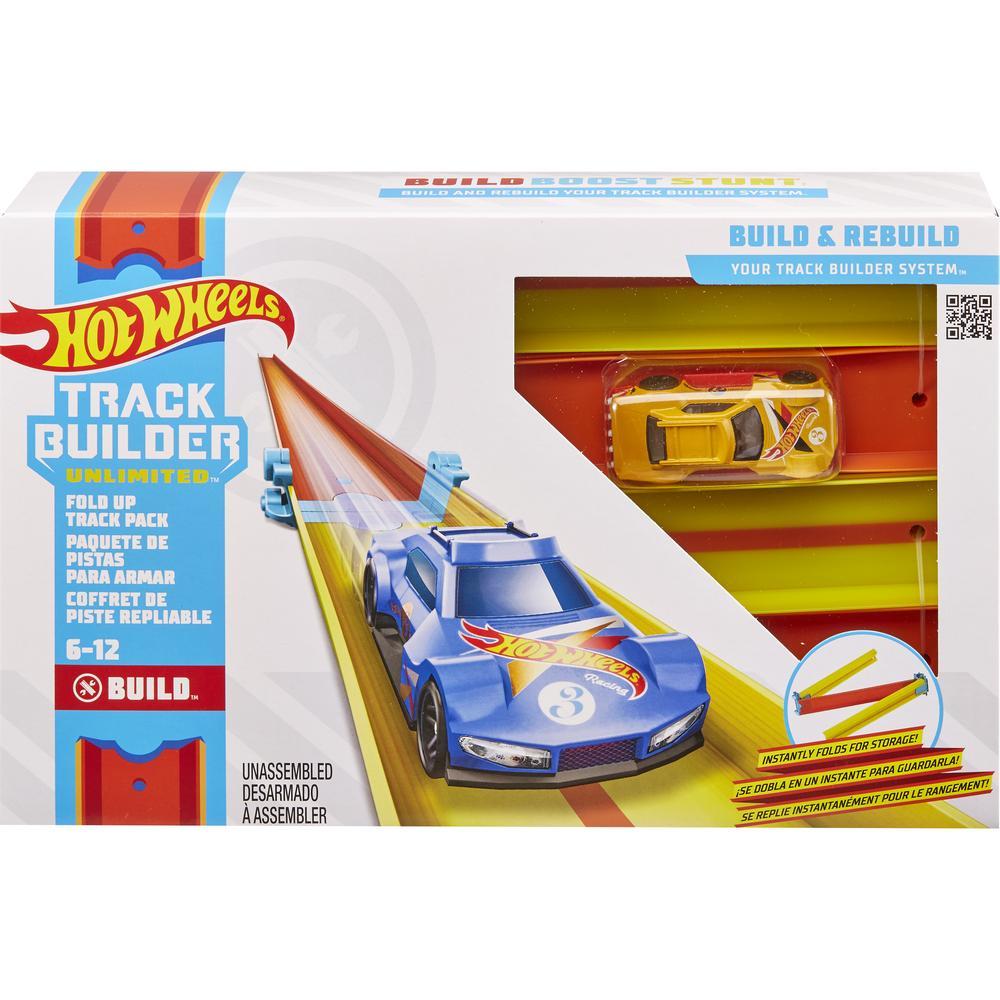 Mattel Hot Wheels Конструктор Трасс Крутой поворот GLC87/GLC91 Складной трек