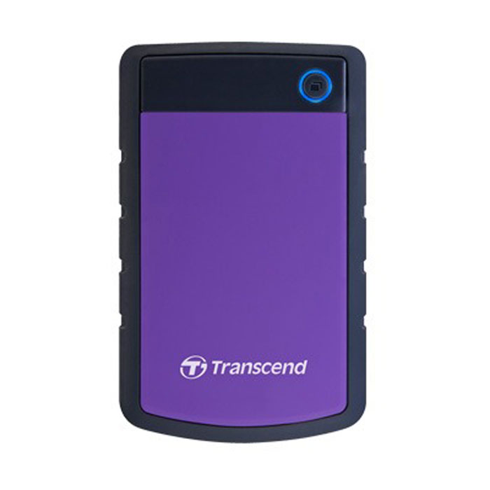 Внешний жесткий диск 2.5 1Tb Transcend TS1TSJ25H3P USB3.0 5400rpm Черно-фиолетовый