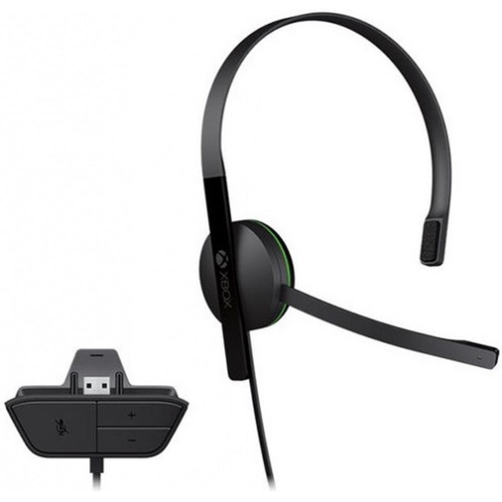 Гарнитура проводная Microsoft Chat Headset (S5V-00015) (Xbox One)