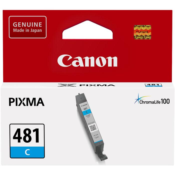 Фото - Картридж Canon CLI-481C для TS6140, TR7540, TR8540, TS8140, TS9140. Голубой картридж canon cli 481xl y для canon pixma ts6140 ts8140ts ts9140 tr7540 tr8540 желтый 2046c001