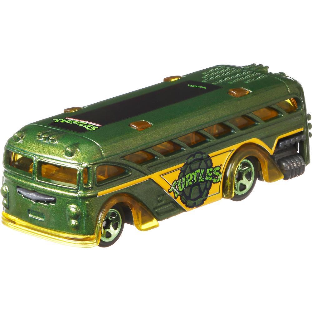 Mattel Hot Wheels Машинка серии Герои кино GDG83 Surfin School Bus mattel базовая машинка hot wheels 91 gmc syclone