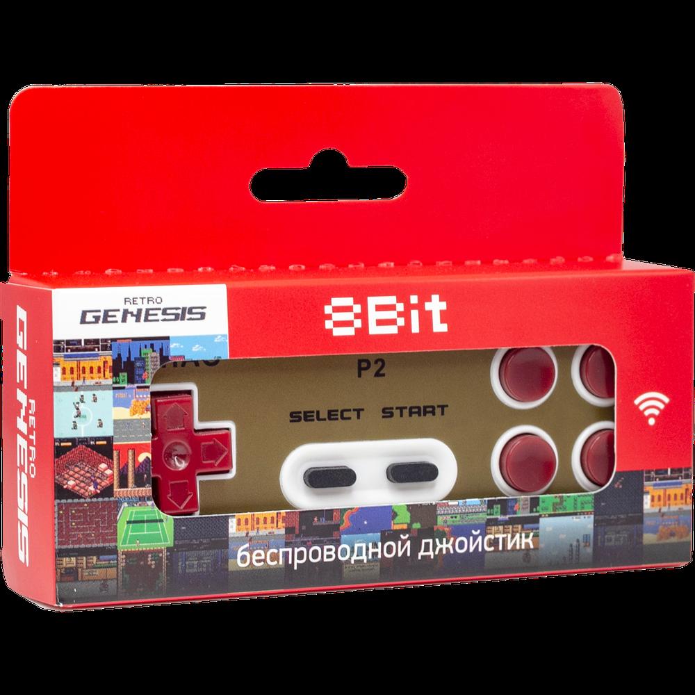 Геймпад Retro Genesis Controller 8 Bit беспроводной (GS-22), P2 геймпад retro genesis controller 16 bit джойстик проводной с кнопкой mode универсальный p1 p2