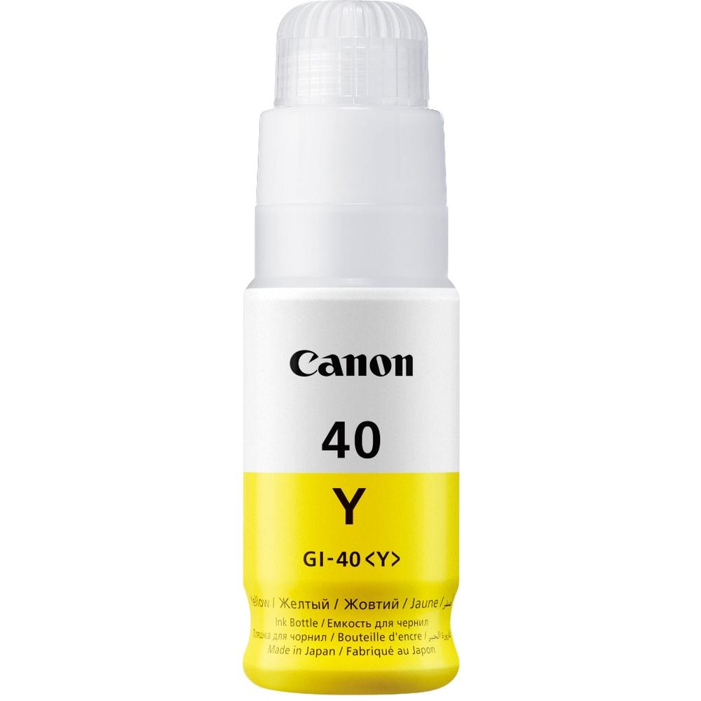 Фото - Чернила Canon GI-40 Y Yellow для Pixma G5040/G6040 картридж струйный canon gi 40 y 3402c001 желтый 70мл для canon pixma g5040 g6040