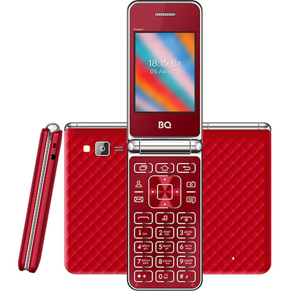 Фото - Мобильный телефон BQ Mobile BQ-2445 Dream Red мобильный телефон bq mobile bq 2446 dream duo gold